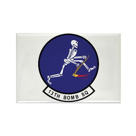 13th Bomb Squadron Rectangle Magnet (100 pack)