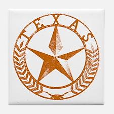 Texas Star Tile Coaster