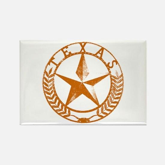 Texas Star Rectangle Magnet