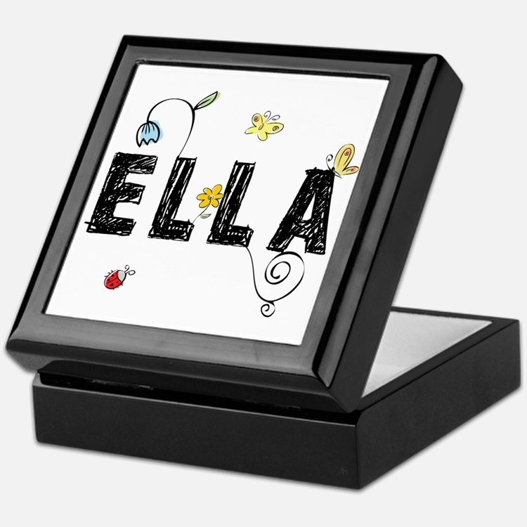 Ella Floral Keepsake Box