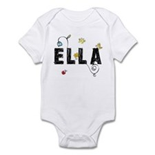Ella Floral Infant Bodysuit