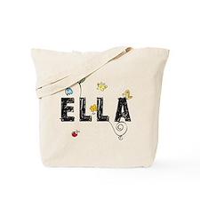 Ella Floral Tote Bag