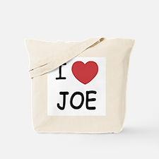 I heart Joe Tote Bag