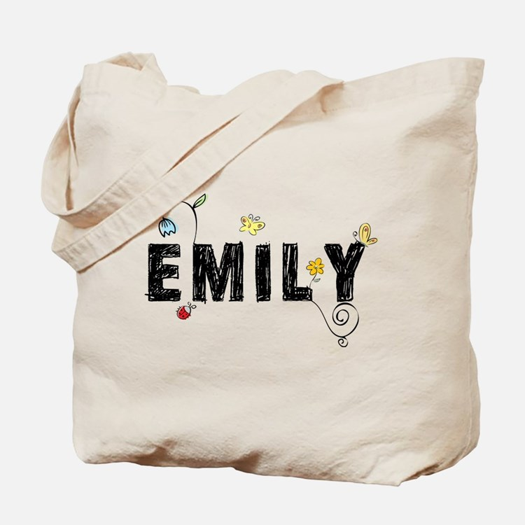 Floral Emily Tote Bag