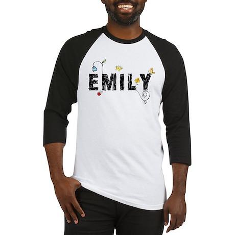 Floral Emily Baseball Jersey