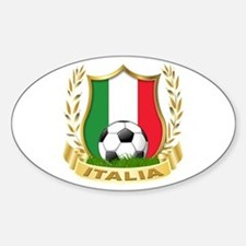2010 World Cup Italia Oval Decal