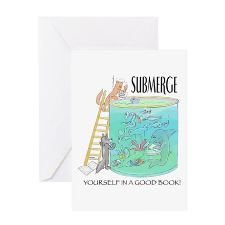 Submerge Greeting Card