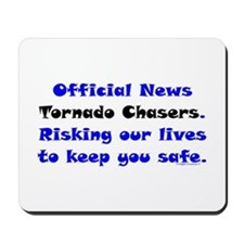 Official Tornado Chasers Mousepad