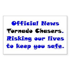 Official Tornado Chasers Decal