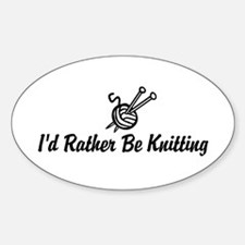 Funny knitting Decal