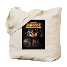 Pinnochio Tote Bag w/ Cast Name