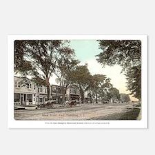 """Main Street"" Postcards (Set of 8)"