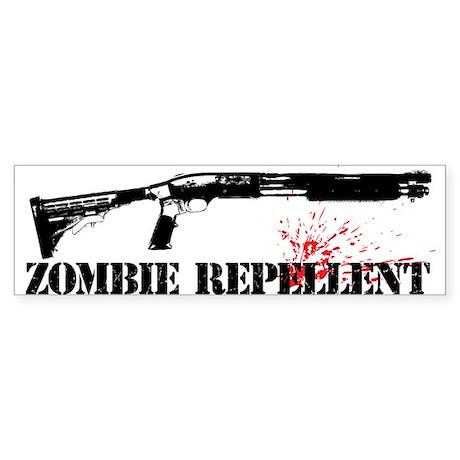 Zombie Repellent Sticker (Bumper)