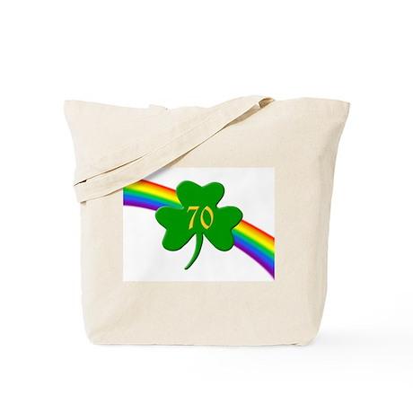 70th Shamrock Tote Bag