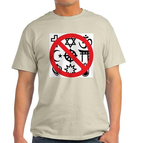 No Religion Light T-Shirt
