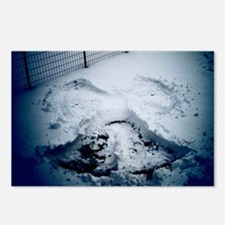 Snow Angel Postcards (Package of 8)