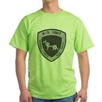 Hudson County K9 Green T-Shirt