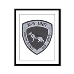 Hudson County K9 Framed Panel Print