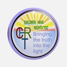 CHRT MAIN LOGO Ornament (Round)