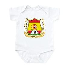 Spainish Soccer Infant Bodysuit
