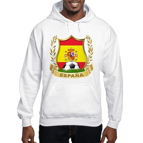 Spainish Soccer Hooded Sweatshirt