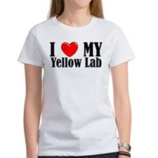 I Love My Yellow Lab Tee