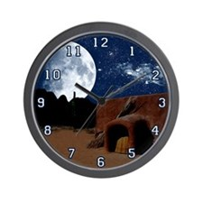 Pueblo Wall Clock