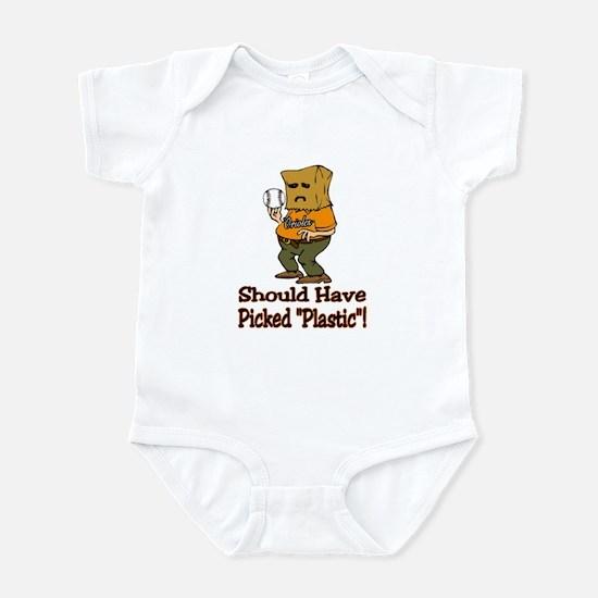Oriole Fan Infant Bodysuit