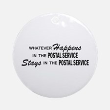 Whatever Happens - Polstal Service Ornament (Round