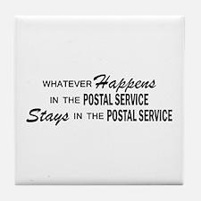 Whatever Happens - Polstal Service Tile Coaster