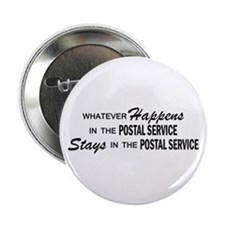"Whatever Happens - Polstal Service 2.25"" Button"
