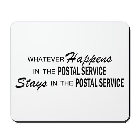 Whatever Happens - Polstal Service Mousepad
