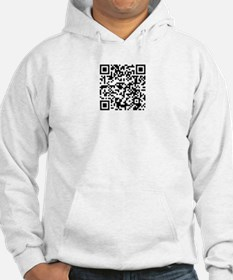 Apparently your QR code reader works! Hoodie