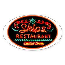 Skip's Restaurant Decal