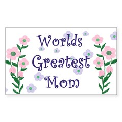 Worlds Greatest Mom Decal