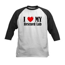 I Love My Rescued Lab Tee
