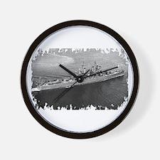 USS Canberra Wall Clock