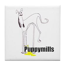 Cool Italian greyhound Tile Coaster