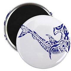 Tribal Shark Magnet