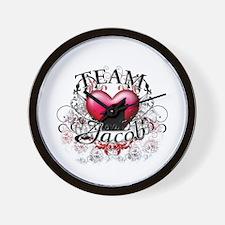 Team Jacob Tribal Wall Clock