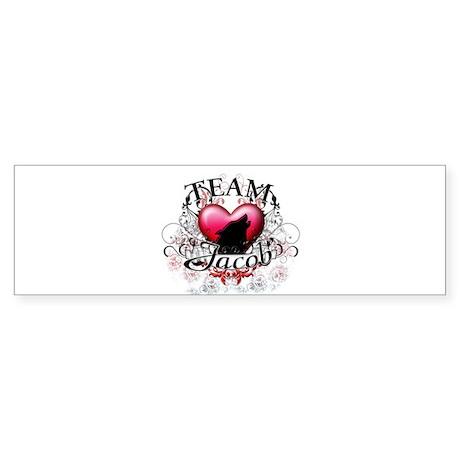 Team Jacob Tribal Sticker (Bumper)
