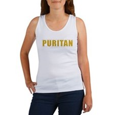 Puritan - 1 Tim 4:12 (Women's Tank Top, yellow)