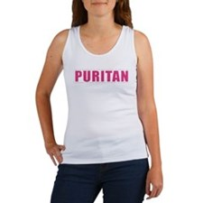 Puritan - 1 Tim 4:12 (Women's Tank Top, pink)