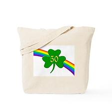 50th Shamrock Tote Bag