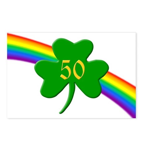 50th Shamrock Postcards (Package of 8)