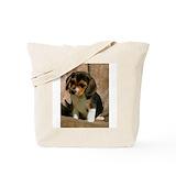 Beagle bag Canvas Totes
