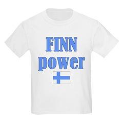 Finnish Power Kids T-Shirt