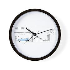 Camp creek Wall Clock
