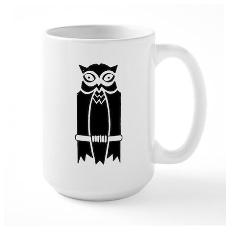 Owl Silhouette Large Mug