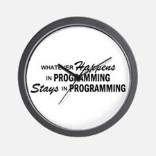 Whatever Happens - Programming Wall Clock